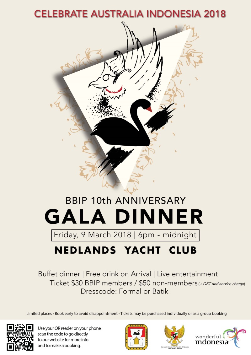Flyer BBIP 10th Anniversary Gala Dinner 9 March