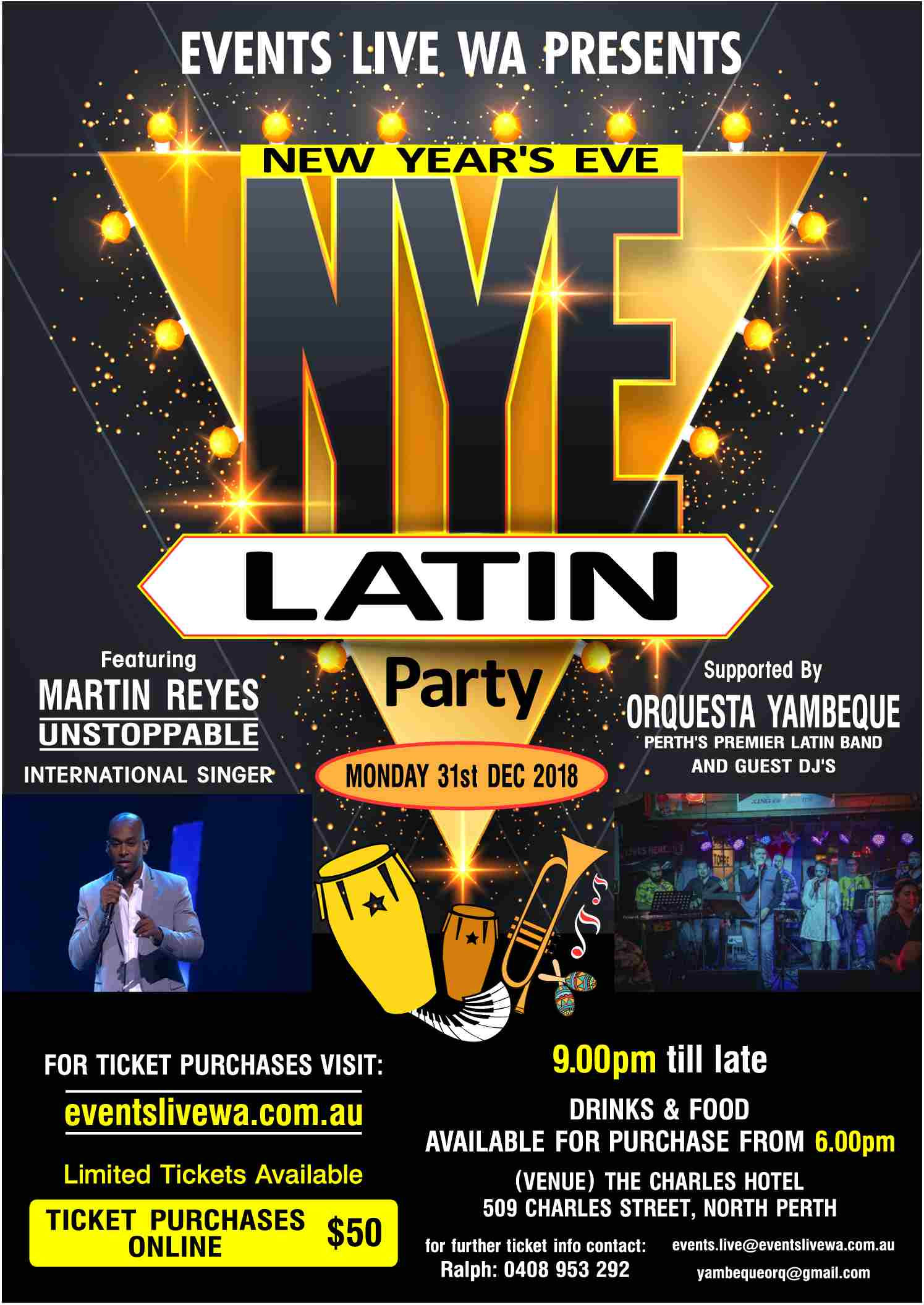2019 NY Eve Latin Party
