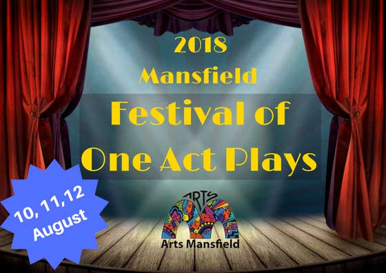 festival of one act plays postcard