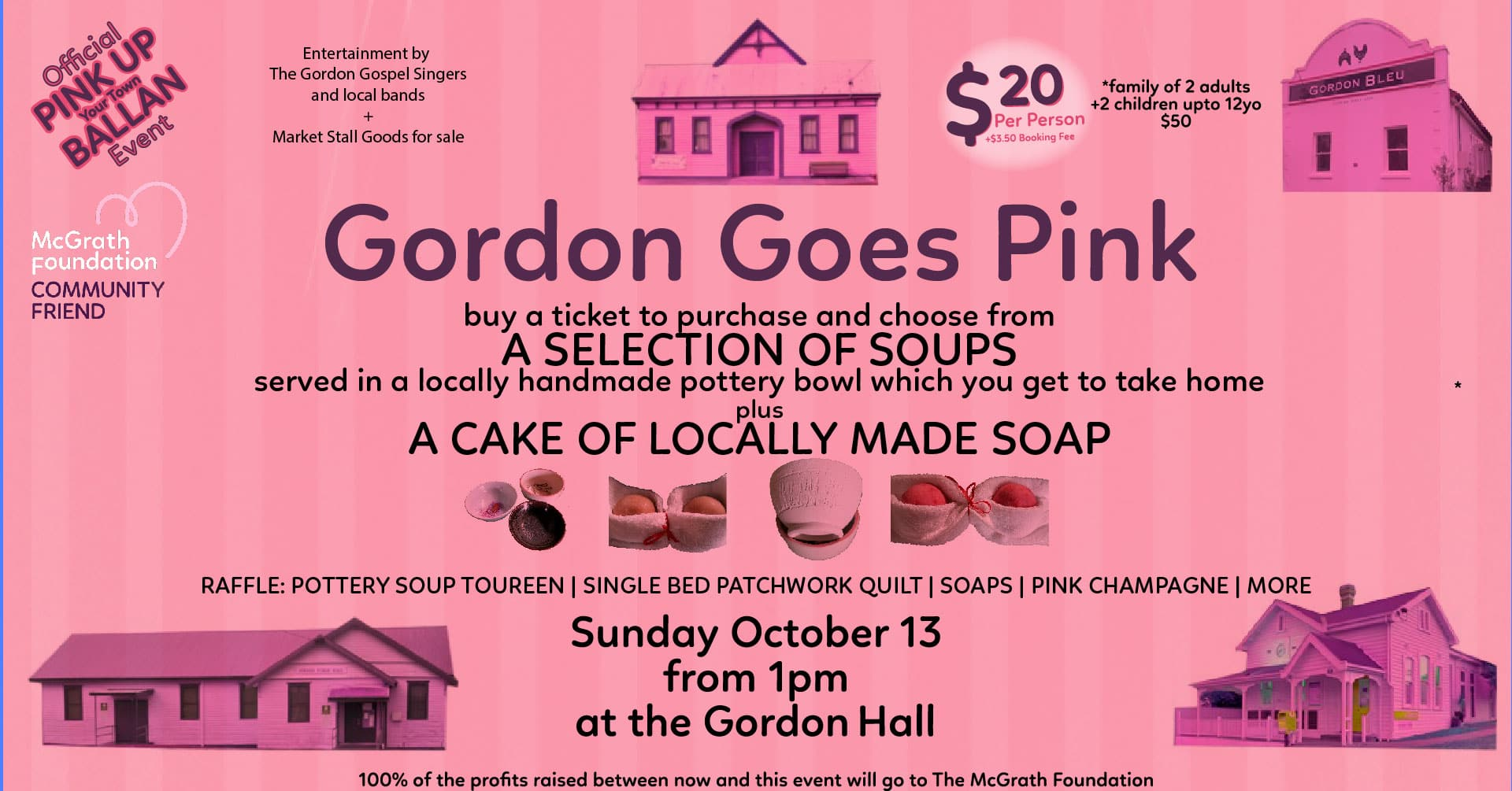 Gordon Goes Pink