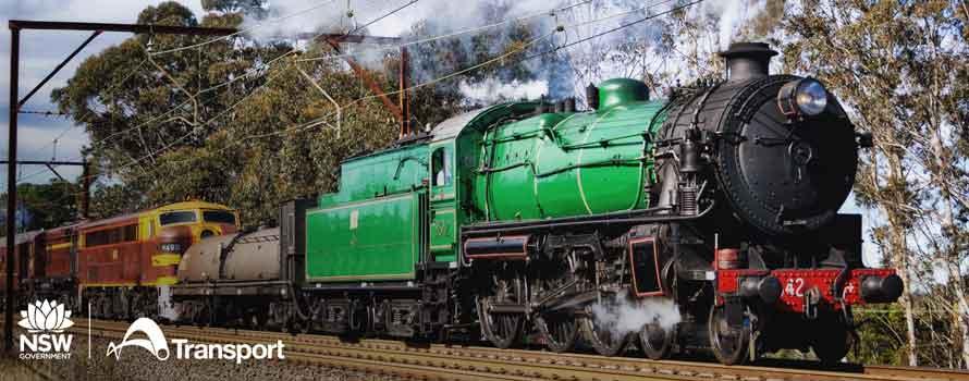 Heritage Steam Train ride 2019