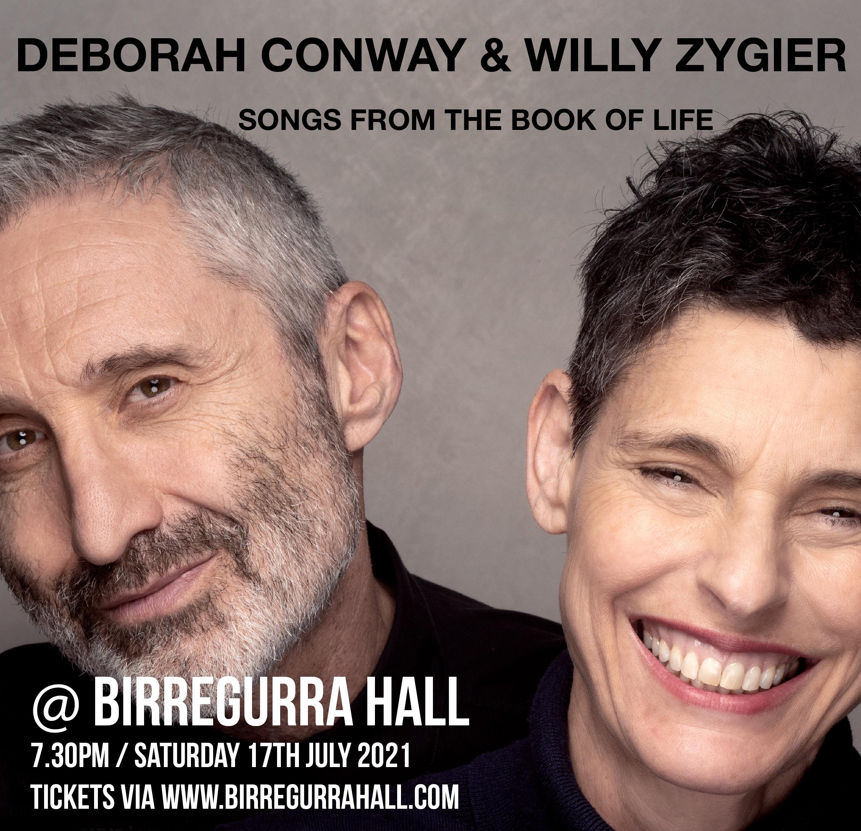 Deborah Conway & Willy Zygier at Birregurra Hall