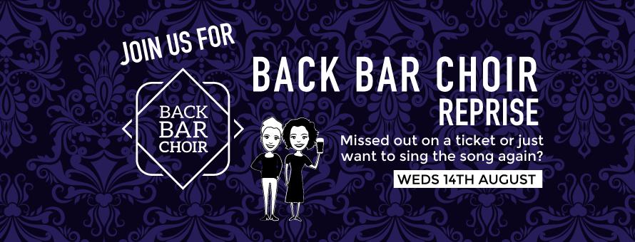 Back Bar Choir - 14 August