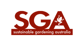 Sustainable Gardening Australia logo