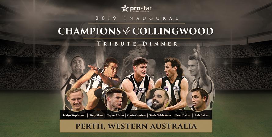 2019 Champions of Collingwood Tribute Dinner (WA)
