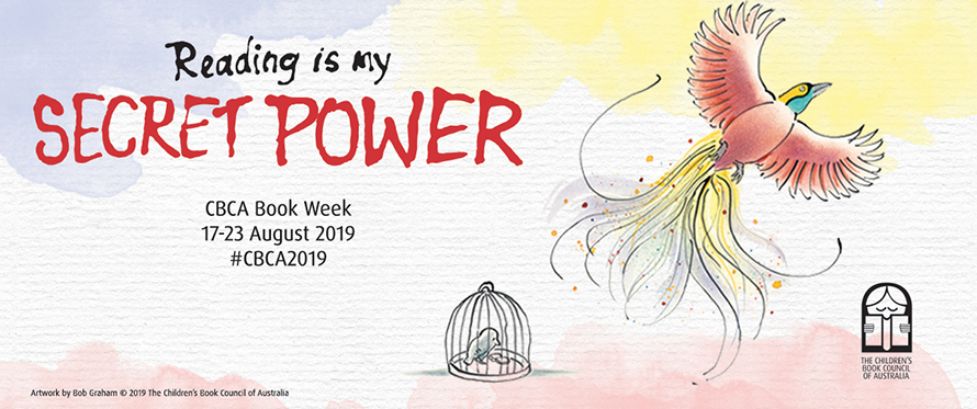 Reading is my secret power: CARP Book Week show Event image