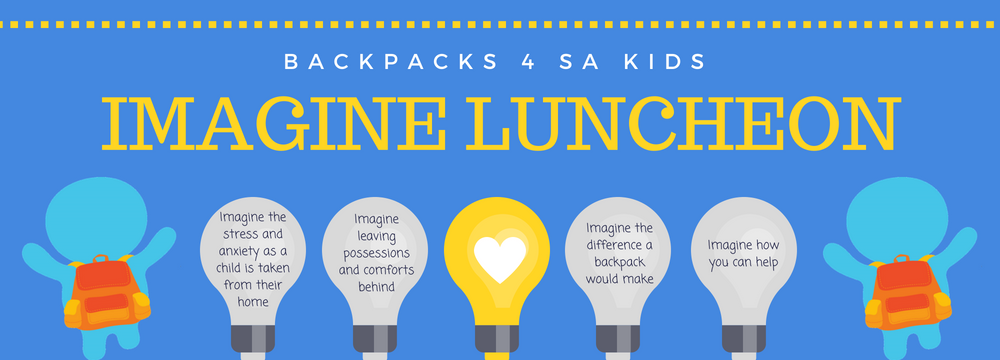 Backpacks 4 Sa Kids Imagine Luncheon Trybooking Au