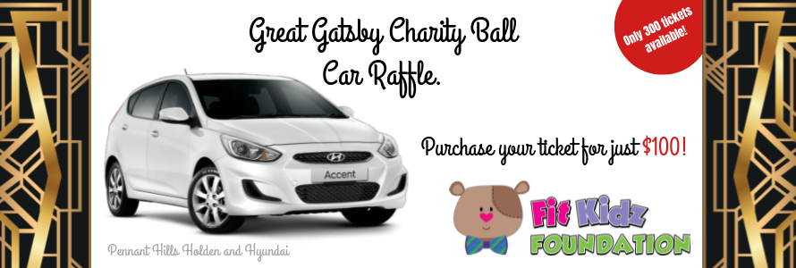 2019 Great Gatsby Charity Ball Car Raffle Pre-Sale