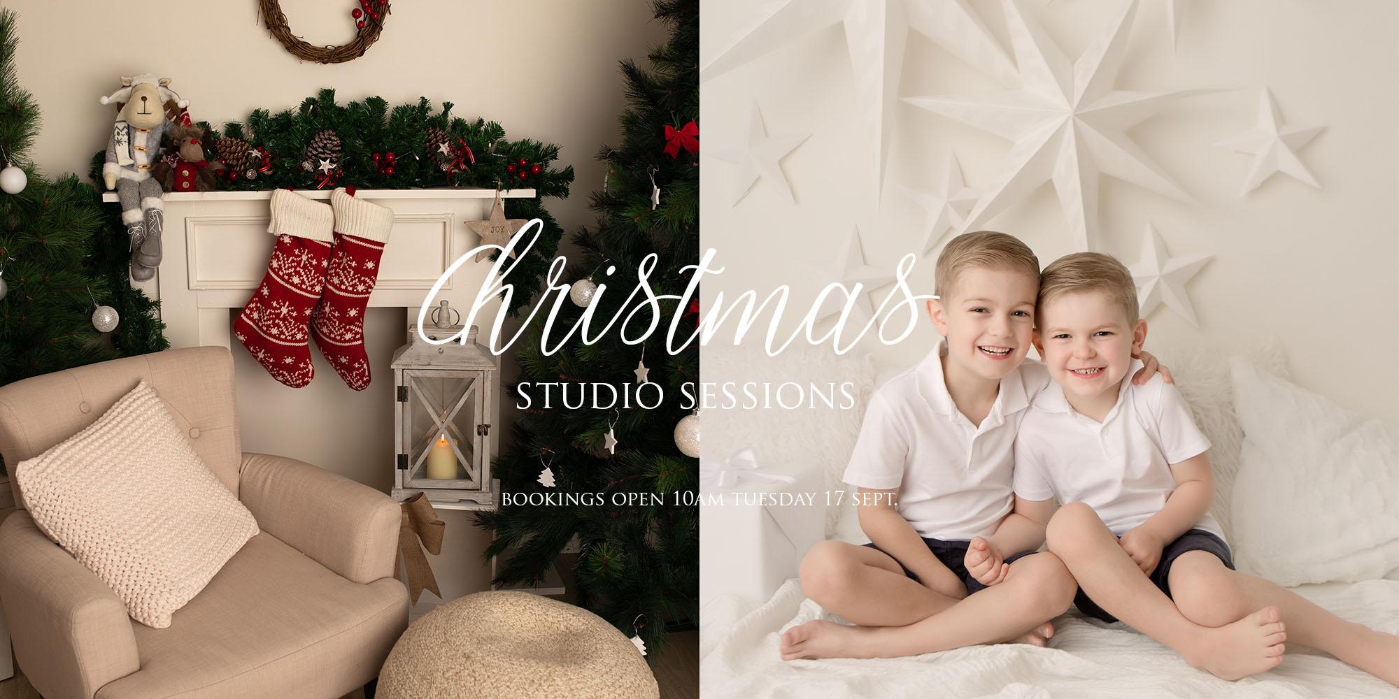 Christmas Setups.The Newborn Studio 2019 Christmas Sessions