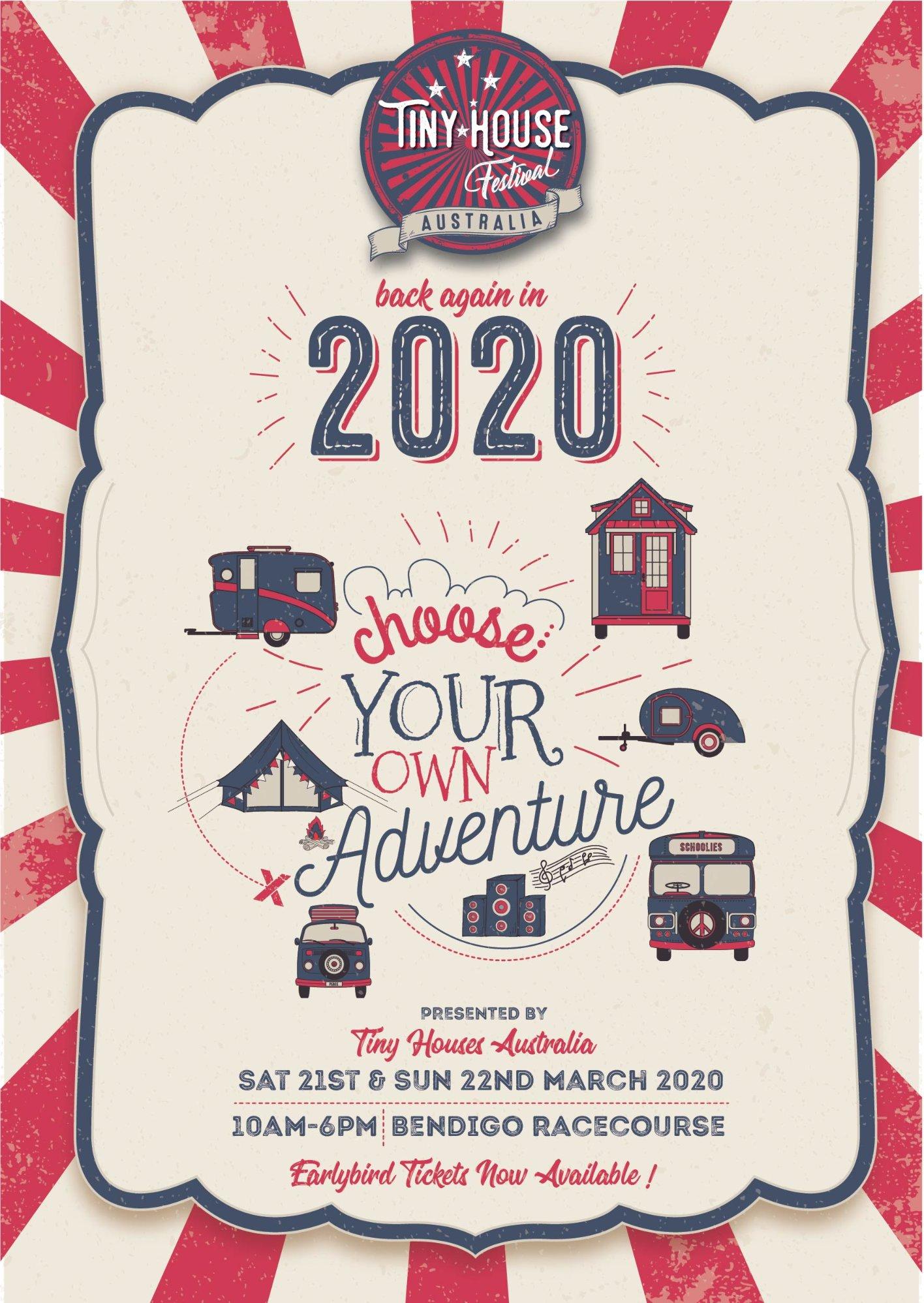 Tiny House Festival 2020.2020 Tiny House Festival Australia Trybooking Australia