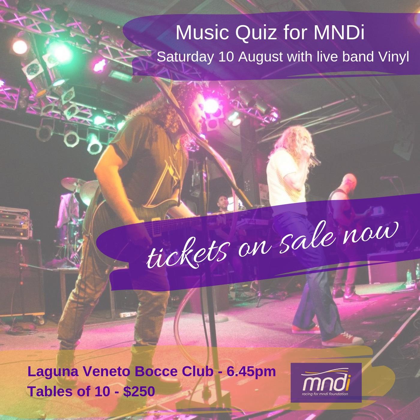 Music Quiz for MNDi 2019