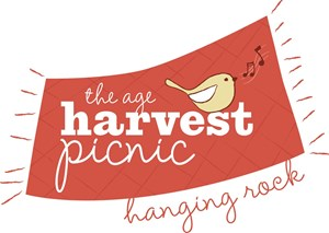 The Age Harvest Picnic at Hanging Rock logo