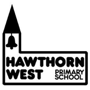 Hawthorn West primary school logo