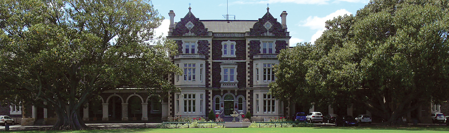 prince alfred college building from the outside