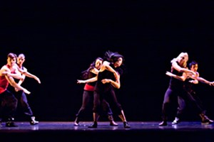 Buzz Dance Company dancers performing on stage