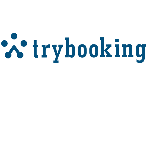 TryBooking Logo in blue