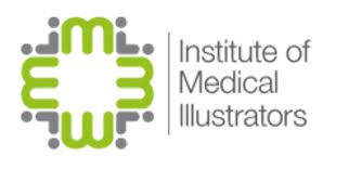 Institute of medical illustrators united kingdom logo